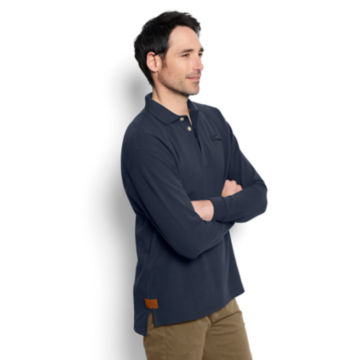 The Long-Sleeved Orvis Signature Polo - Regular -  image number 2