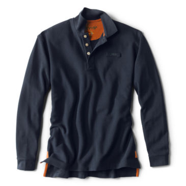 The Long-Sleeved Orvis Signature Polo -