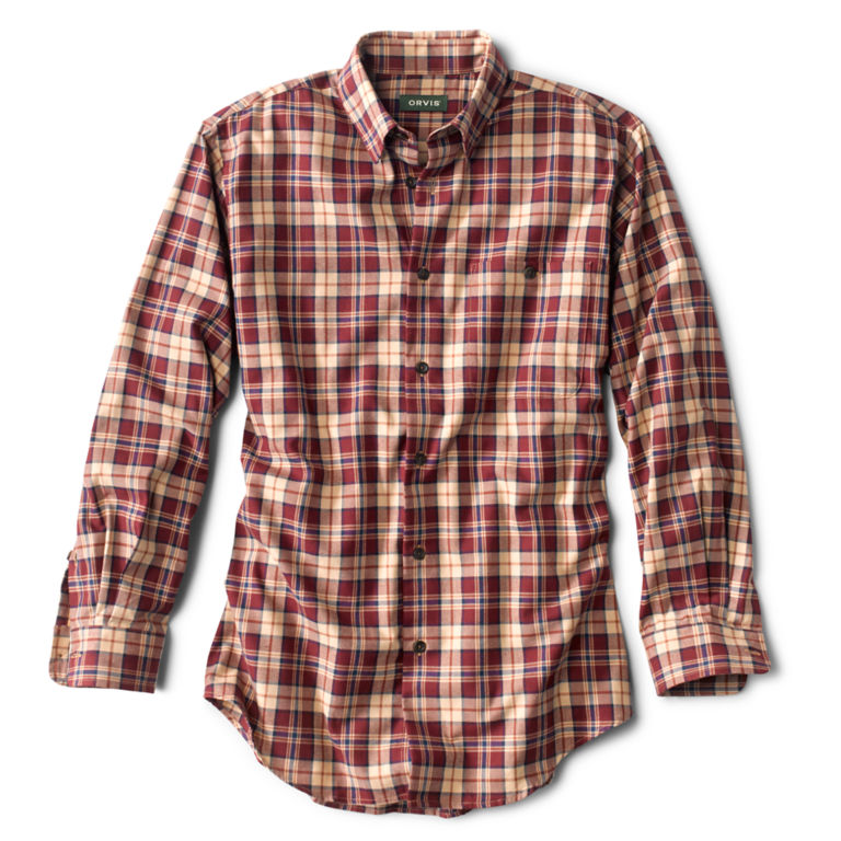 Battenkill Cotton Blend Long-Sleeved Shirt - Regular -  image number 0