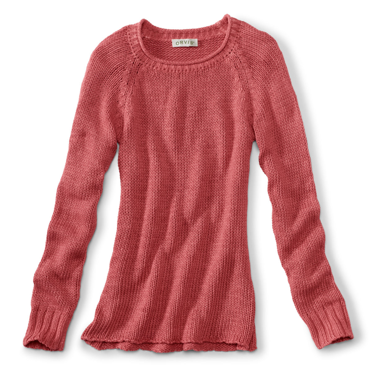 Garment-Dyed Rollneck Cotton Sweater - ROSEWOODimage number 0