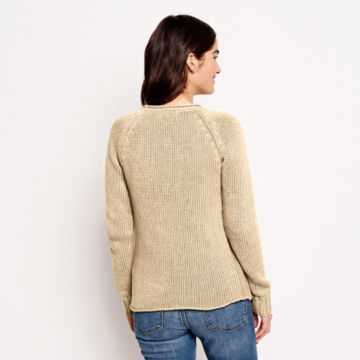 Garment-Dyed Rollneck Cotton Sweater -  image number 2