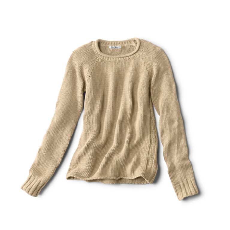 Garment-Dyed Rollneck Cotton Sweater -  image number 3