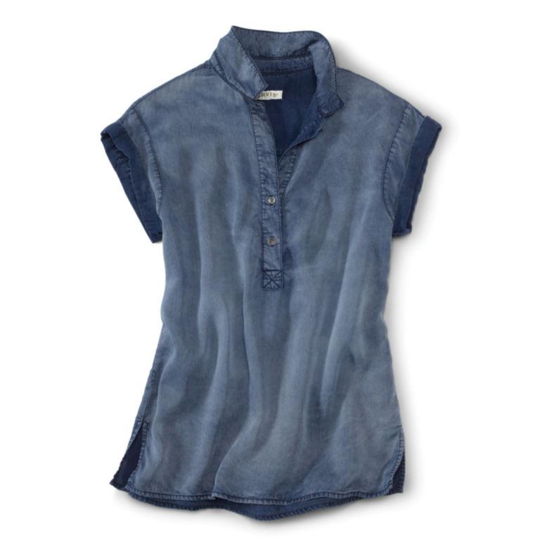 Tencel®  Short-Sleeved Popover -  image number 3