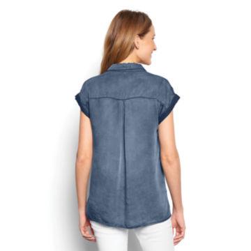 Tencel®  Short-Sleeved Popover -  image number 2