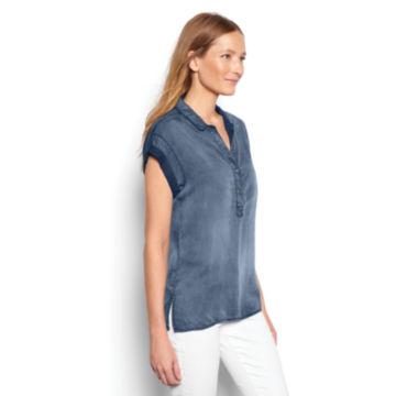 Tencel®  Short-Sleeved Popover -  image number 1