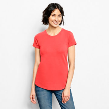 Relaxed Short-Sleeved Perfect Tee -  image number 0