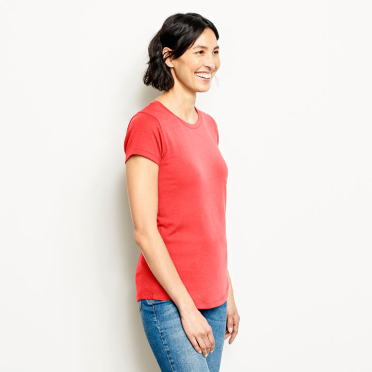 Relaxed Short-Sleeved Perfect Tee -  image number 1