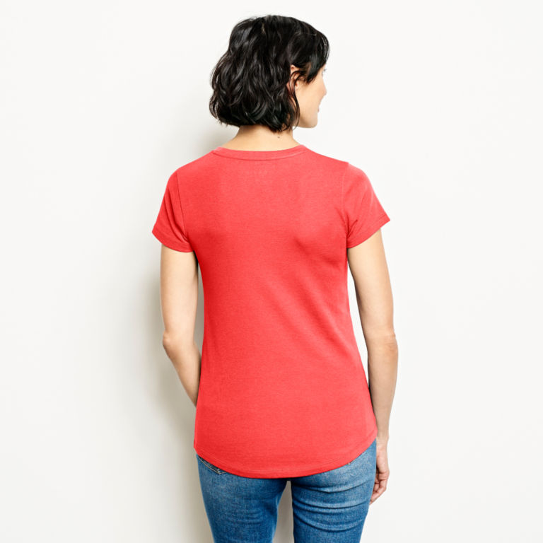 Relaxed Short-Sleeved Perfect Tee -  image number 2