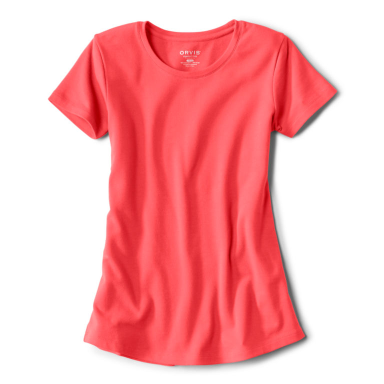 Relaxed Short-Sleeved Perfect Tee -  image number 3