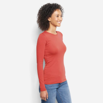 Long-Sleeved Relaxed Perfect Tee -  image number 1