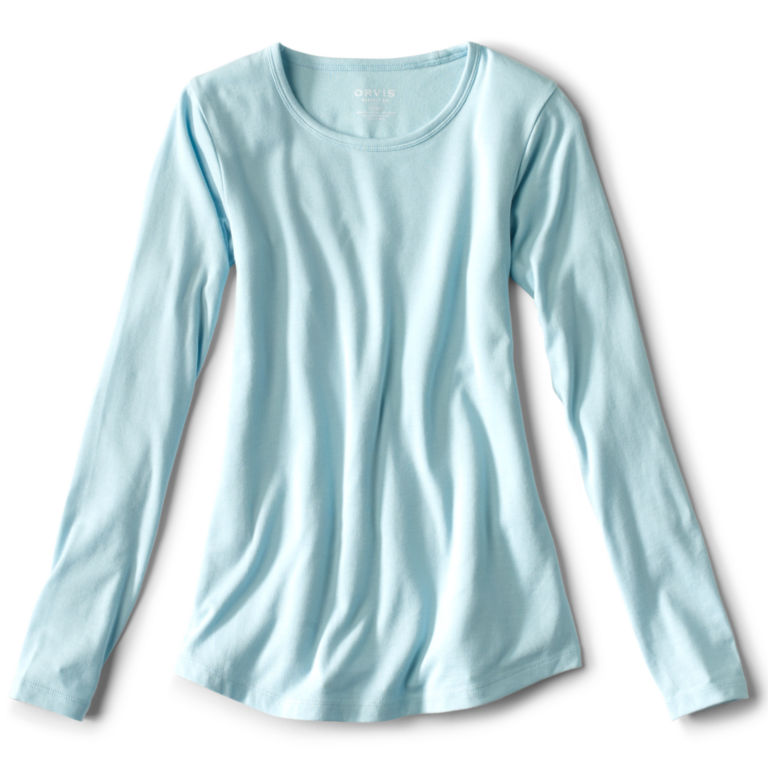 Long-Sleeved Relaxed Perfect Tee -  image number 3