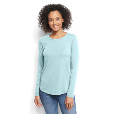 Long-Sleeved Relaxed Perfect Tee -