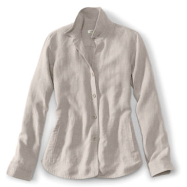 Shoreline Linen Shirt Jacket -