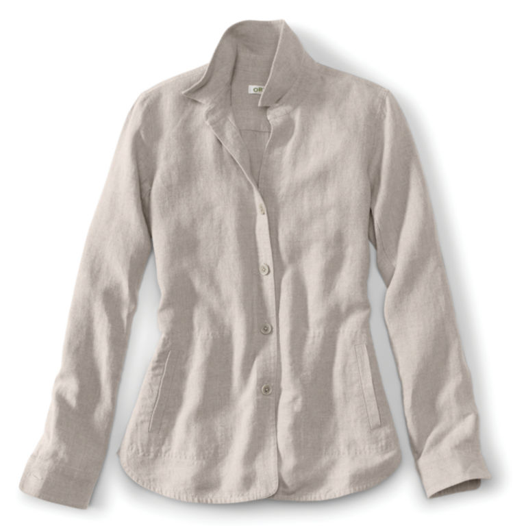 Shoreline Linen Shirt Jacket -  image number 0