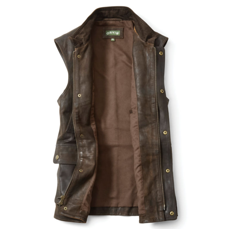 Munitions Leather Vest -  image number 2