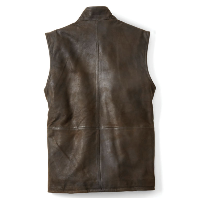 Munitions Leather Vest -  image number 1