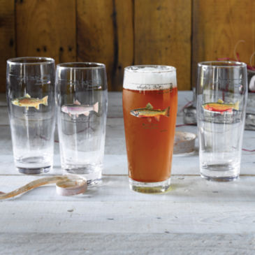 Angler's Pint Glass -