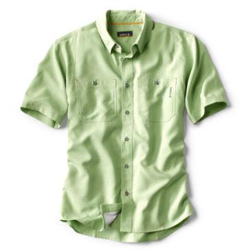Tech Chambray Short-Sleeved Work Shirt -