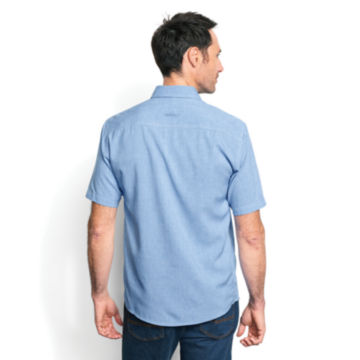 Tech Chambray Short-Sleeved Work Shirt -  image number 3