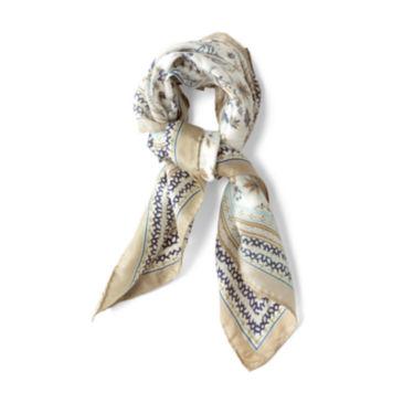 Printed Silk Scarves -