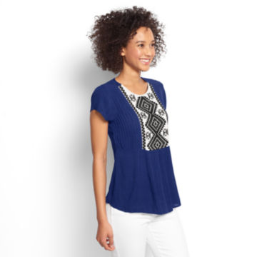 Embroidered Blouse -  image number 1