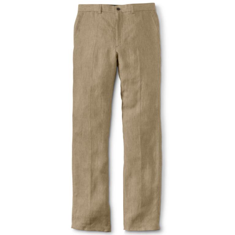 Soft Linen Dress Pants -  image number 1