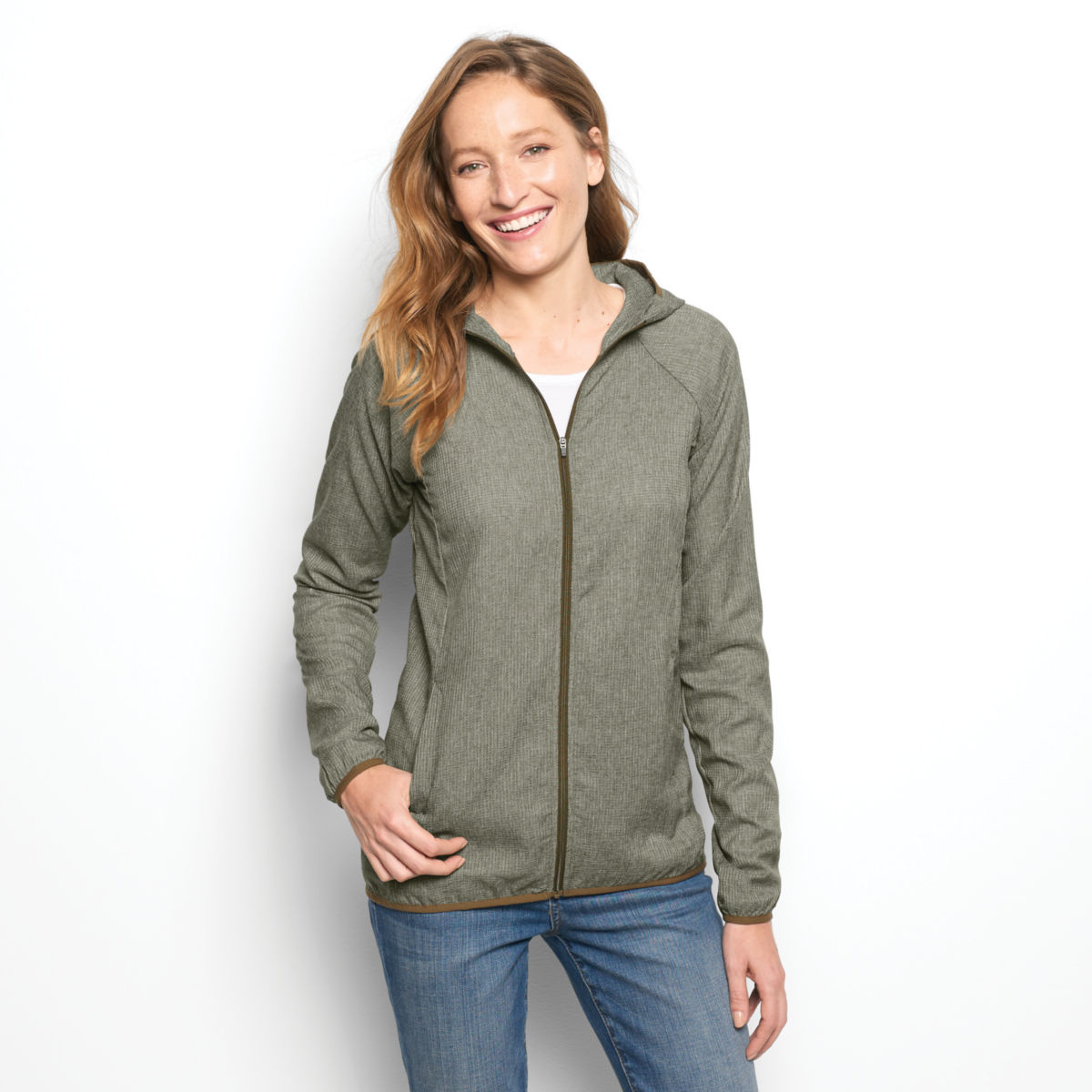 Outsmart® Breezer Jacket - OLIVEimage number 0