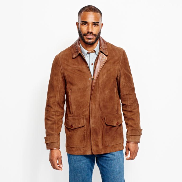 Riverton Leather Jacket - COGNAC image number 1