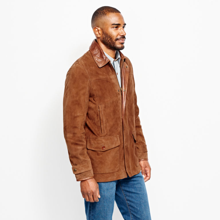 Riverton Leather Jacket - COGNAC image number 2