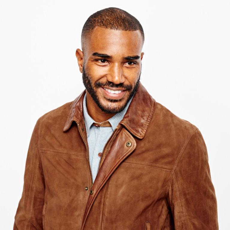 Riverton Leather Jacket - COGNAC image number 4