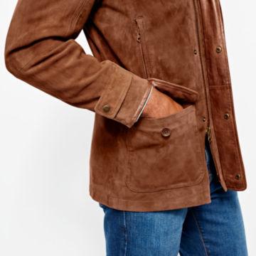 Riverton Leather Jacket - COGNAC image number 5