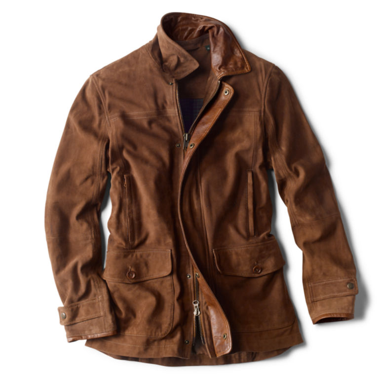 Riverton Leather Jacket - COGNAC image number 0