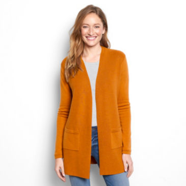 Signature Merino Cardigan Sweater -