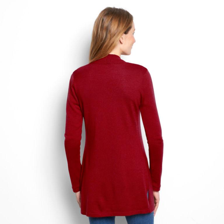 Signature Merino Cardigan Sweater -  image number 3