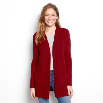 Signature Merino Cardigan Sweater -  image number 1