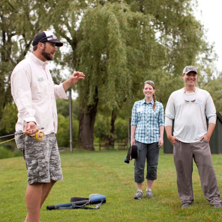 1-Day Advanced Fly-Casting School - Manchester, Vermont -  image number 0