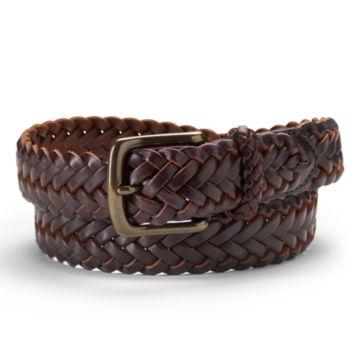 Classic Latigo Braid Belt - BROWN image number 0