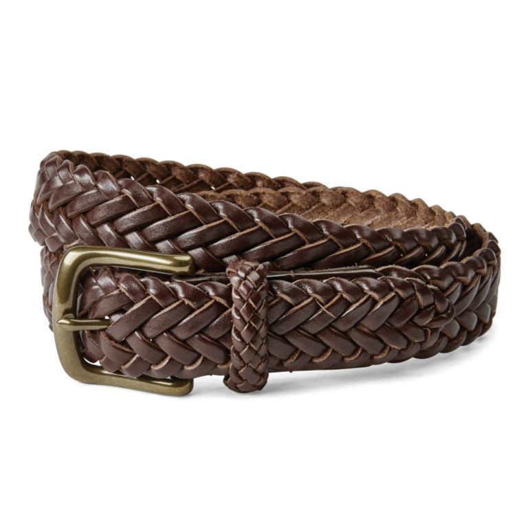 Classic Latigo Braid Belt - BROWN image number 1