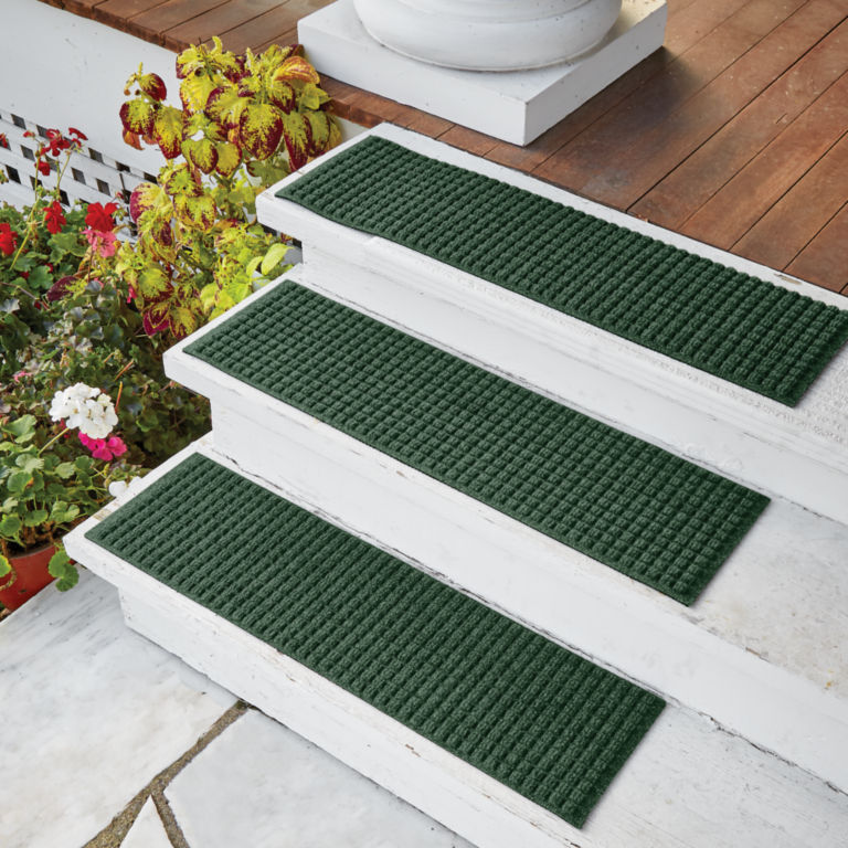 Recycled Water Trapper®  Basketweave Stair Treads -  image number 1