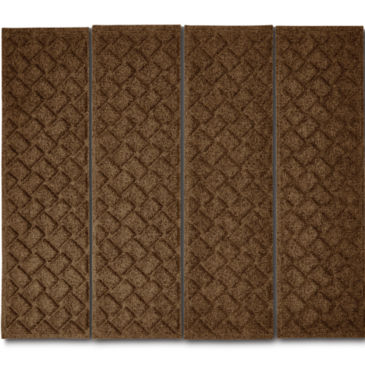 Recycled Water Trapper®  Basketweave Stair Treads -