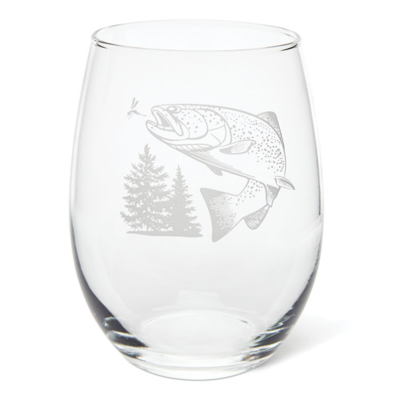 Jumping Trout Glasses -  image number 1