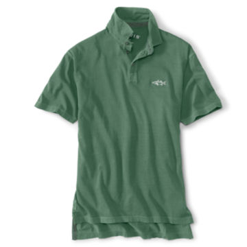 Angler's Polo - WEATHERED GREEN image number 0