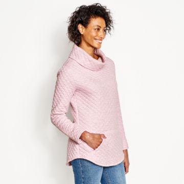 Quilted Cowlneck Sweatshirt -  image number 1