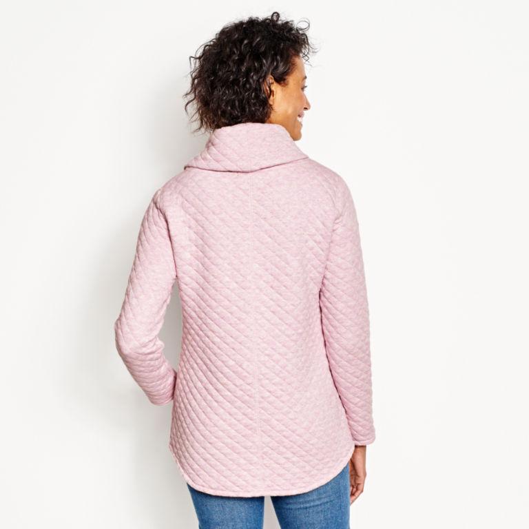 Quilted Cowlneck Sweatshirt -  image number 2