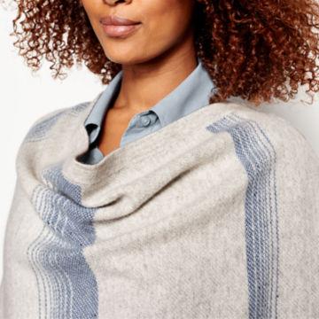 Blanket-Stripe Cashmere Wrap -  image number 3