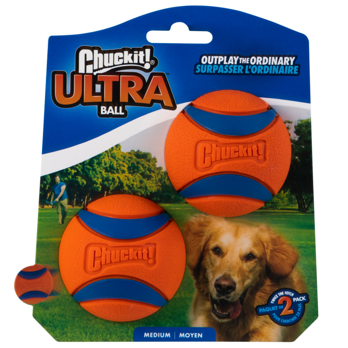 Chuckit!®  Ultra Ball Two-Pack - image number 0