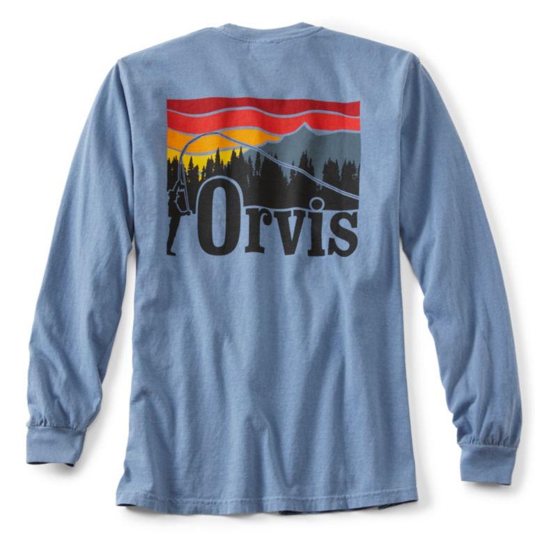 Endless Skyline Long-Sleeved Pocket T-Shirt -  image number 1