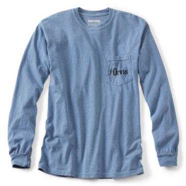 Endless Skyline Long-Sleeved Pocket T-Shirt -