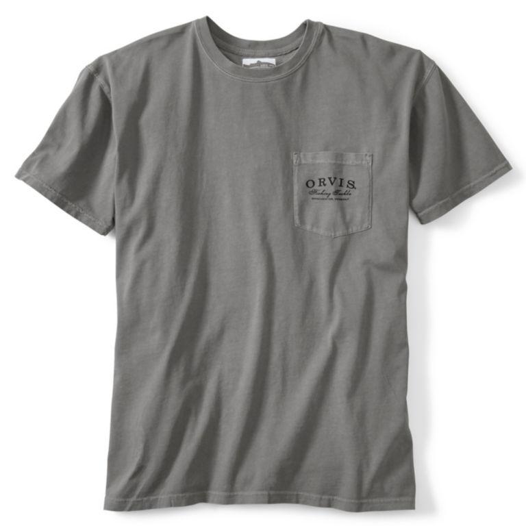 Crossed Rods Vintage Pocket Short-Sleeved T-Shirt -  image number 1