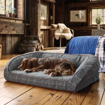 Orvis AirFoam Bolster Dog Bed -